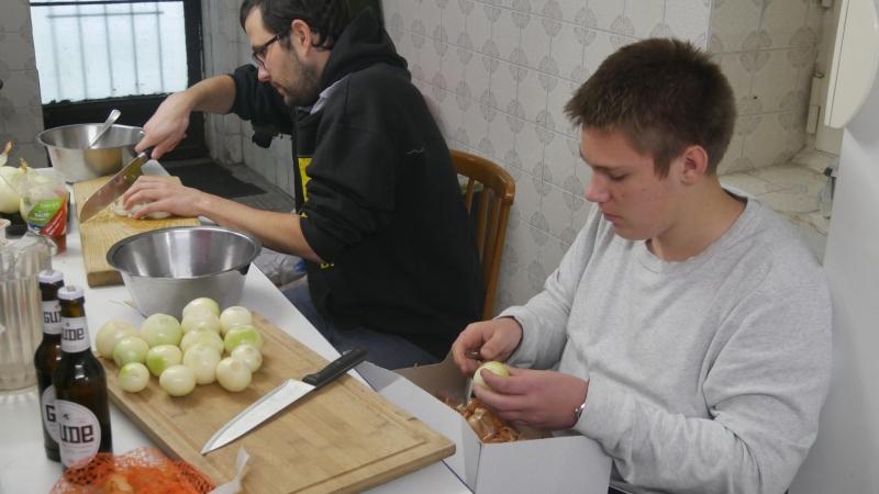 Vorbereitung Rittermahl